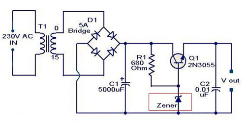 Application Circuit_ Interface Regulator Circuit